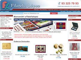 Filatelia y Numismática López